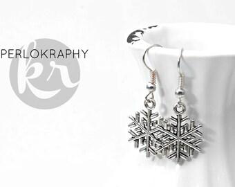 Earrings ~ snowflake ~.