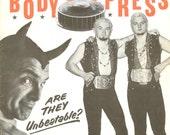 Items similar to Vintage Wrestling Print: Body Press Magazine Cover