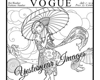 Vogue Cover Page Etsy