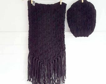 BERNADETTE Black / Hat / collar