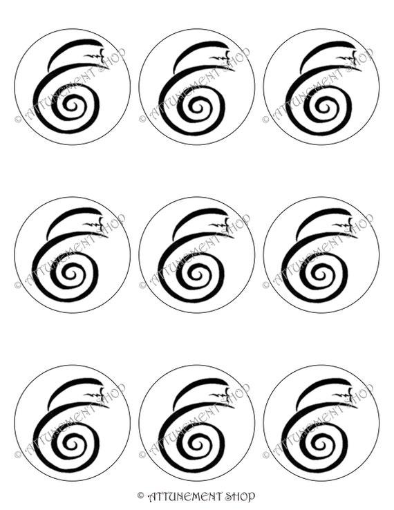 dumo dai ko mio tibetan reiki master symbol 2 5 inch 9 etsy Tibetan Clothing image