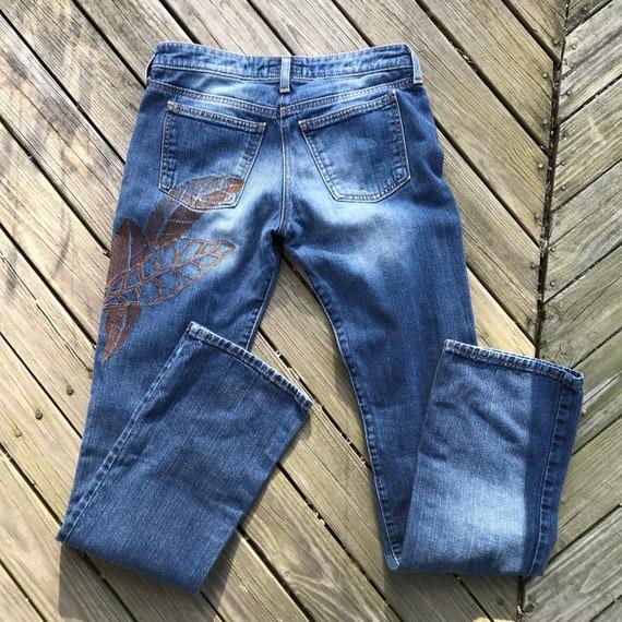 Armani Jeans embroidered vintage - image 1