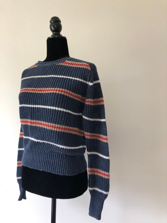 LINEN 80S JGHook sweater small vintage