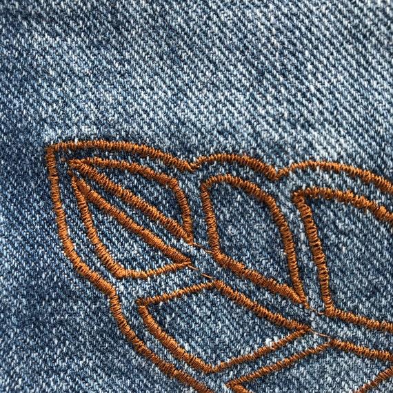 Armani Jeans embroidered vintage - image 8