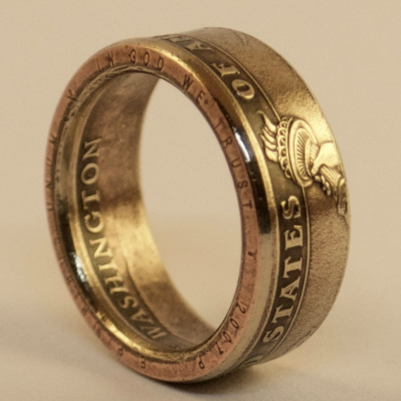US Presidential Dollar Coin Ring image 0