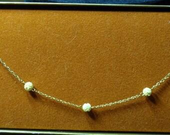 "Carla 12K gold filled 14"" necklace"