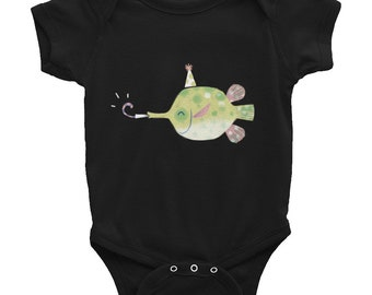 Birthday Blowfish - Infant Bodysuit