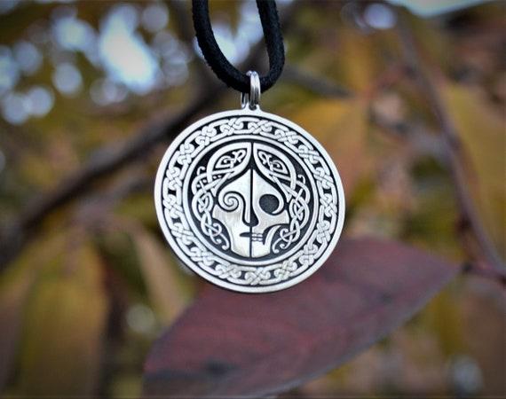 Hel jewelry Hel goddess pendant necklace
