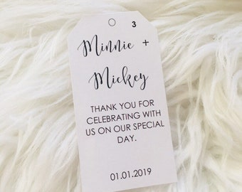 Customized Thank You Tags