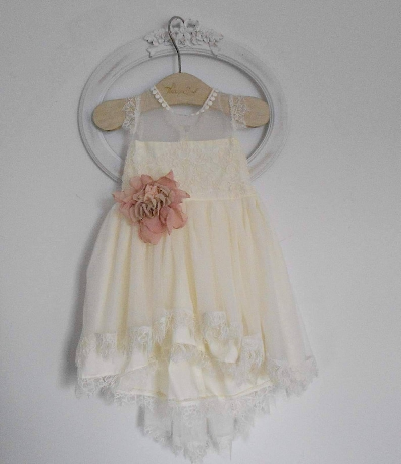 a28481629cef Baby girl Christening outfit! Romantic dress with satin rose!! Amazing  quality with unique details! Βαπτιστικό φόρεμα με δαντέλα και τούλι!!