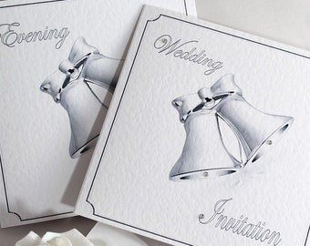 Wedding Bells Invite Etsy