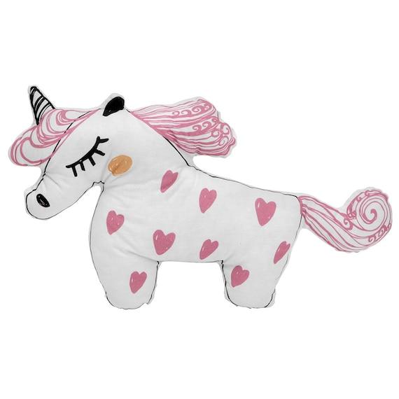 Pink Unicorn pillow, Kids bedroom accessories, Unicorn nursery decorative  pillow, Unicorn gifts for girls, Unicorn toy, Unicorn baby shower