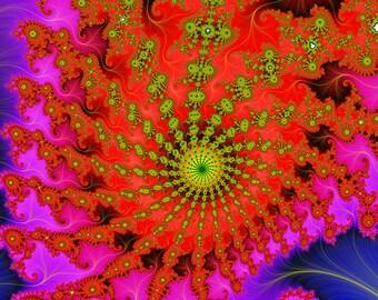 a68746937787 Ant Colony - Zoom in for detail! - vibrant multicolor - Mandelbrot fractal  art Digital Download 4500 x 3000 pixels - DL121-3