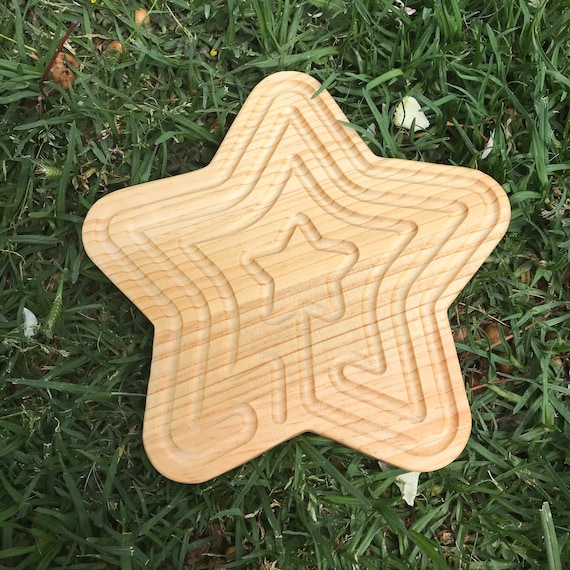 Star Shaped Finger Labyrinth, Calming Device, Meditation Tool, Fidget Toy, Classroom Tool