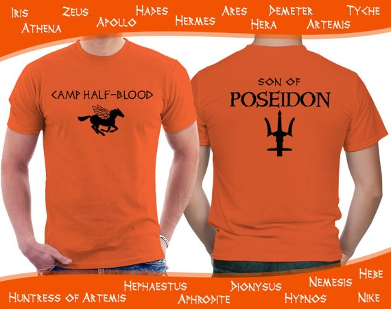 Camp Half Blood T Shirt Percy Jackson And The Olympians Etsy