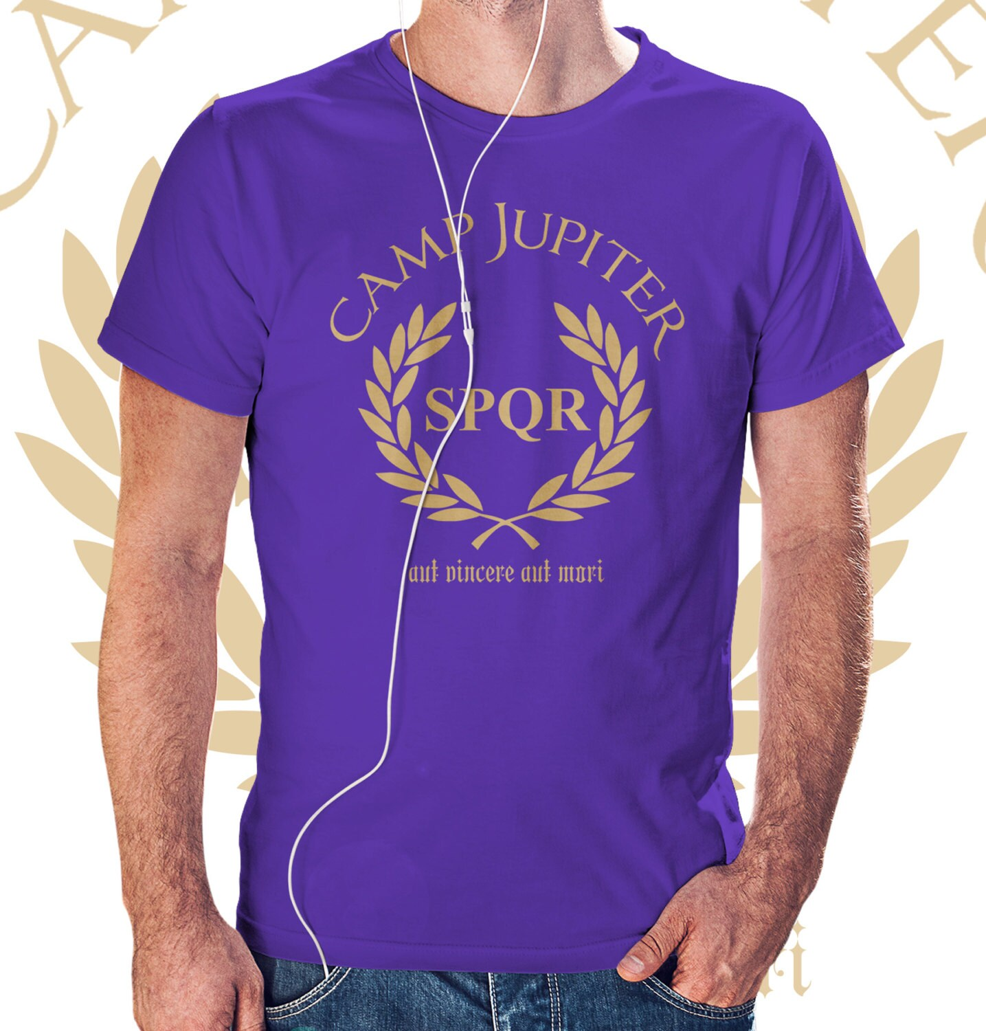 Camp Jupiter SPQR t shirt Percy Jackson and the Olympians