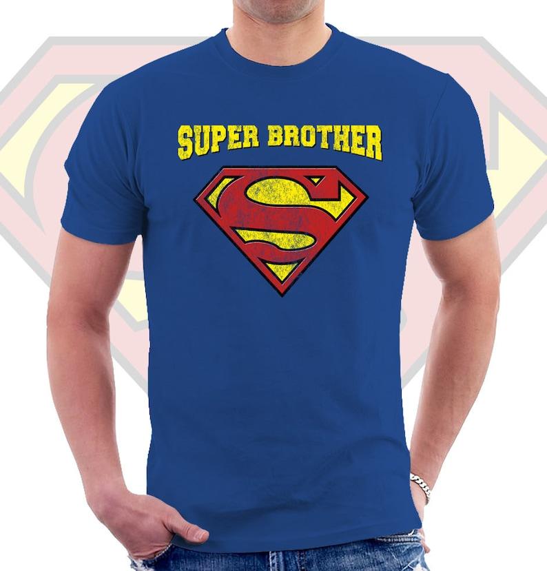 Super hermano t camisa hombre t unisex camiseta cumpleaños | Etsy