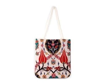 Sling Bag Traditional Turkish Kilim Shoulder Bag Gypsy Bag