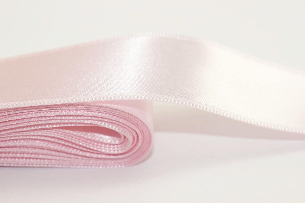 3 to 100 mm wide single faced satin ribbon/double faced