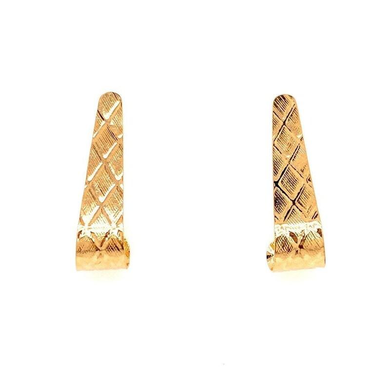 14k Long Earrings