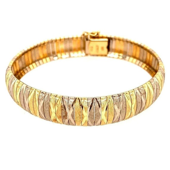 14k Two-Tone Bracelet