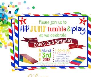 boy birthday invitations etsy