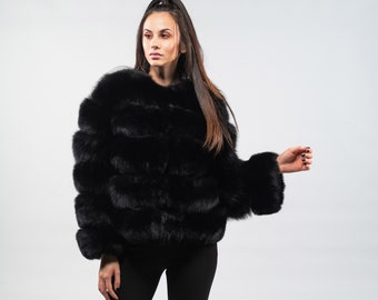 c7c179e803467 Real fur coats slides keychains and other by Hauteacorn on Etsy