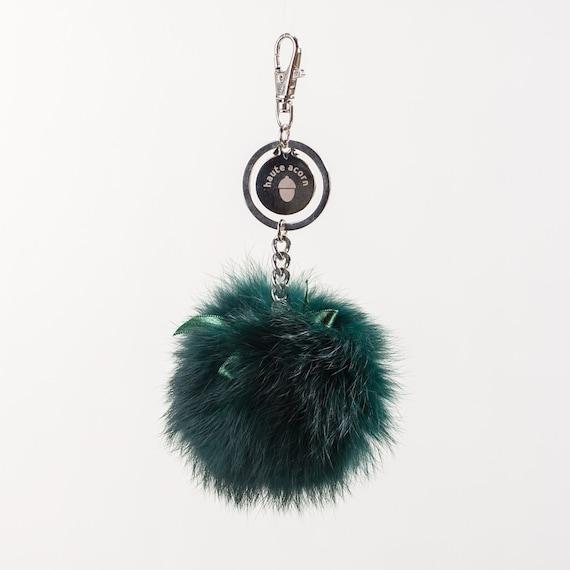 Schlüsselanhänger Taschenanhänger Fell Echtfell  Anhänger aufwendig Tasche