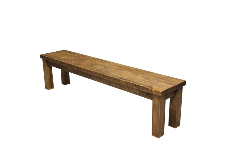 Rough Sawn Pine Dining Bench