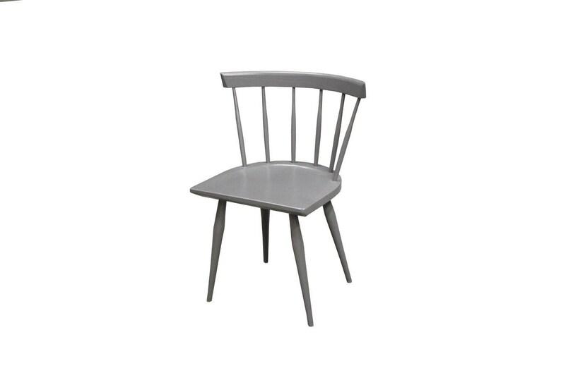 Low Back Modern Windsor Chair Etsy