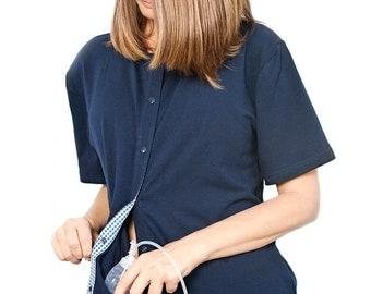 1dfa42f5 2- Pack Breast Cancer Mastectomy Surgery Shirt w/ 4 Drain Pockets, Size  X-LARGE, Mastectomy Shirts, Breast Cancer Surgery Gift