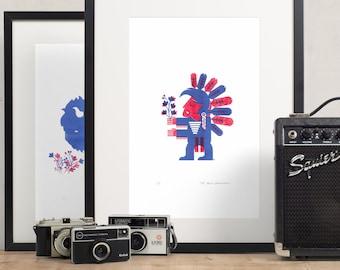 Fine Art American Indian - 11x17