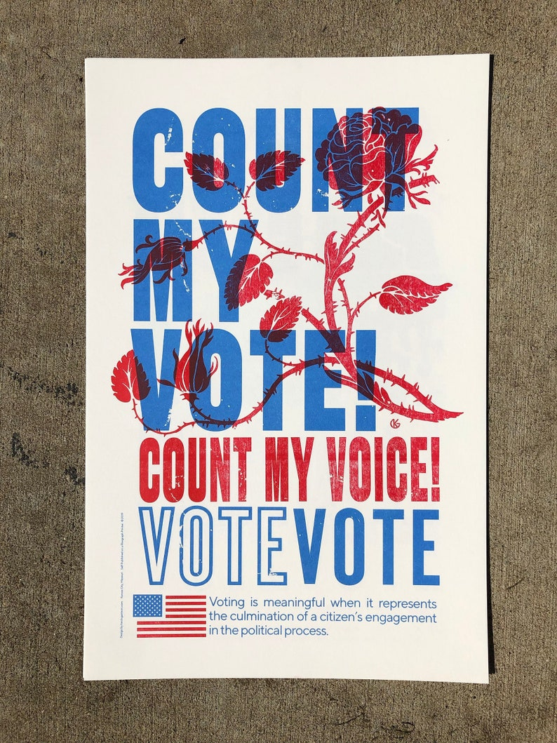 SET OF 4 Posters GOTV