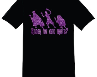 Haunted Mansion Room for one more Disney t-shirt