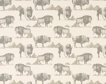 "Buffalo Trail Lead Macon Fabric by the yard Premier Prints  Fabric Yardage Home Decorator Fabric 54"" Wide Upholstery Fabric"