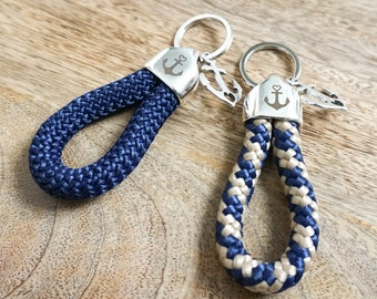 Ahoy! Keychain for sea lovers and beach addicts... Lovingly crafted by marengu.