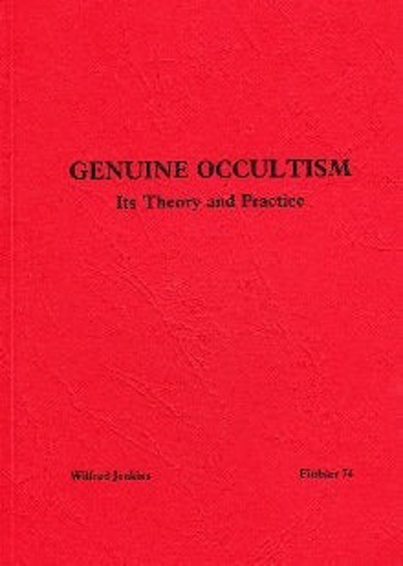 Jenkins Magic Witchcraft W GENUINE OCCULTISM  Finbarr Occult  Magick Grimoire