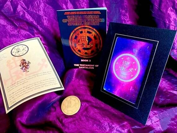 Testament of BUNE Magick Occult Magic Spells Magick Black Seals of Solomon