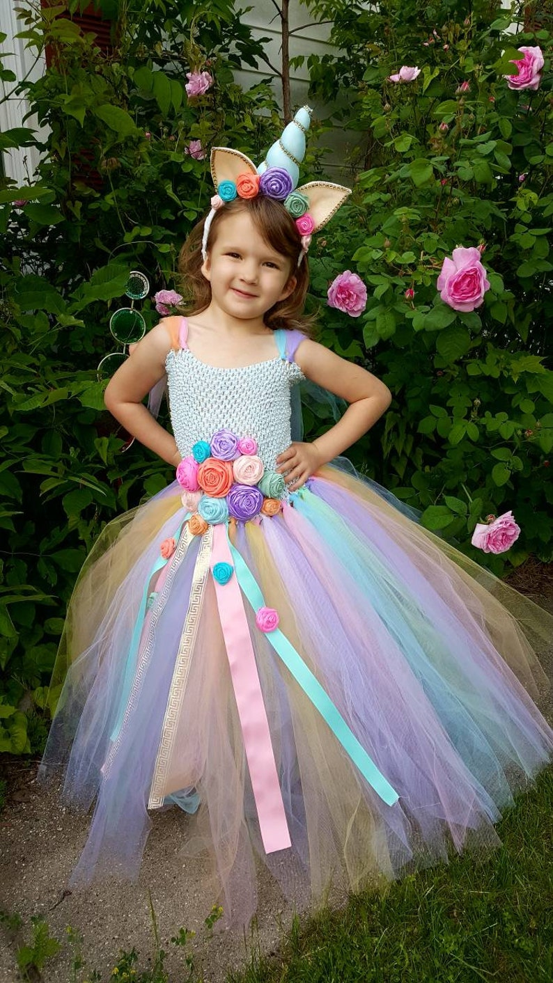21431157764 Unicorn dress Unicorn Birthday Unicorn horn Halloween