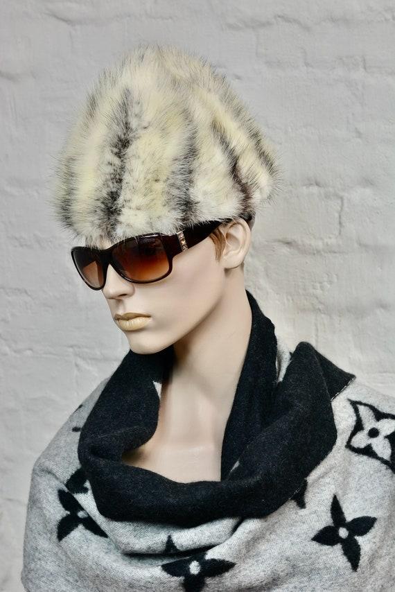 Fur hat Vintage real fur hat Natural fur hat Women