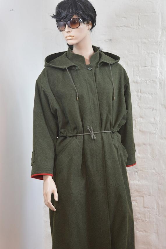 Cappotto Loden, giacca Loden di BARTSONS, mantello austriaco marrone, mantello Dirndl, mantello di lana, cappotto poncho Trachten , realizzato in