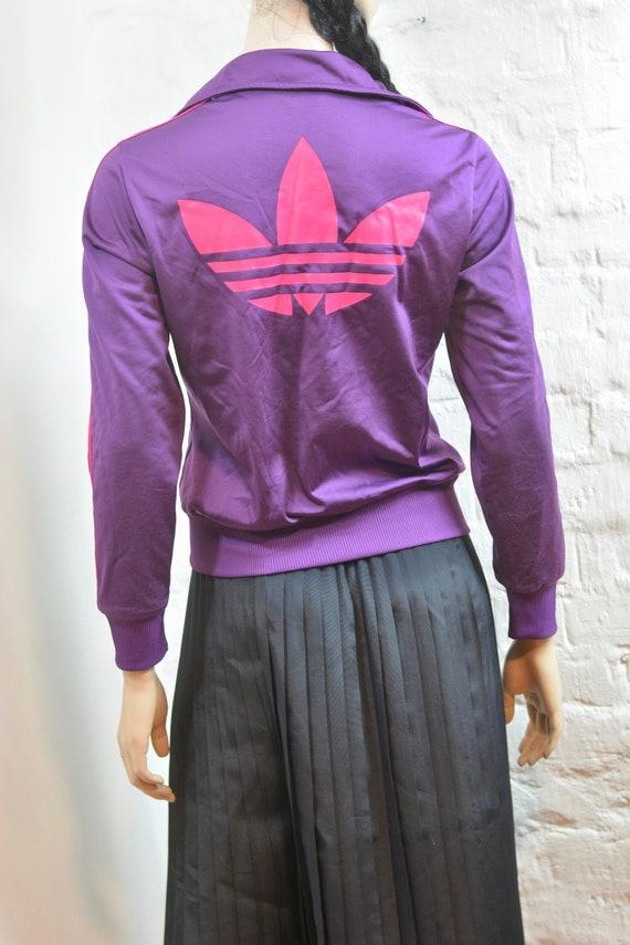 crazy price exclusive deals website for discount Vintage 90s Purple Adidas Sport Jacket Adidas Track Jacket Jogging Jacket  Adidas Zipper Jacket Three Stripes Tracksuit Size M