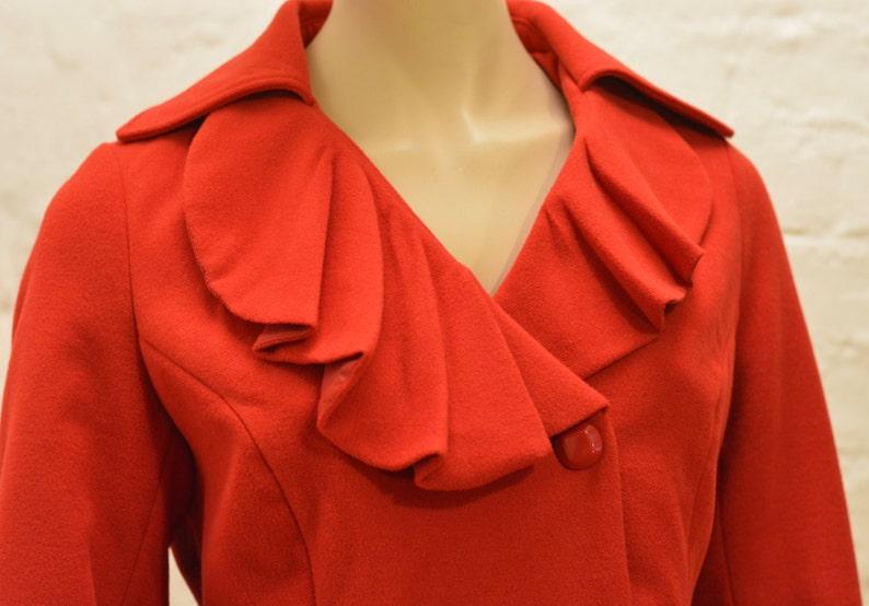 VINTAGE women half jacket BOUTIQUE  half red jacket Size 1644  LXL