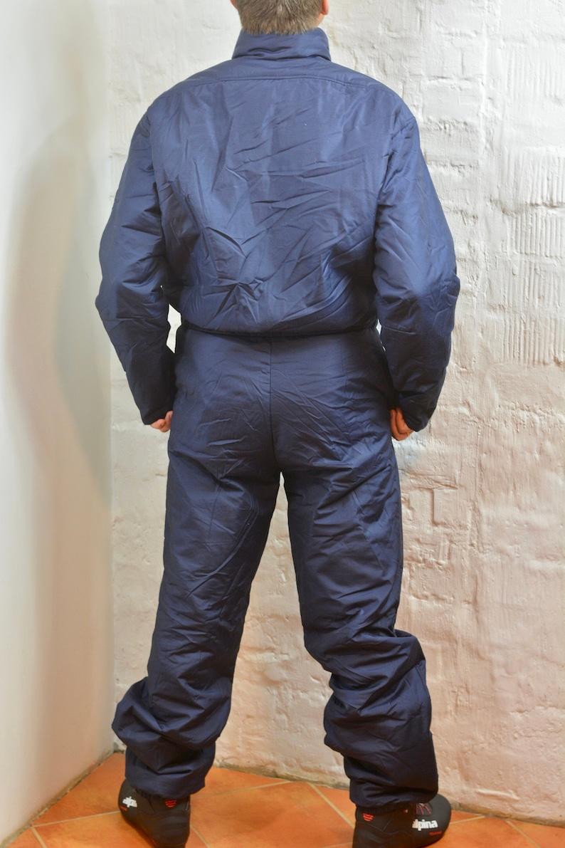 289663fa1aaa Vintage 80s 90s Ski Suit By BOGNER Dark Blue Men Women Unisex