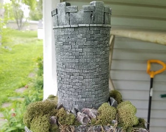 28mm Watchtower Terrain Piece For Tabletop Wargaming RPG