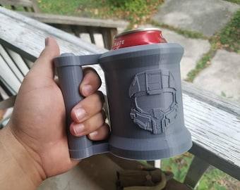 Halo Pop/Soda/Drink Can Holder Mug