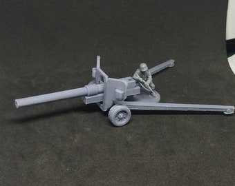 28mm Scale modified short barrel 100 mm Field Gun M1944 (BS-3) WW2 Miniature Wargaming Bolt Action 3D Printed