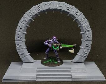 Ancient Portal Terrain Piece 3D Printed