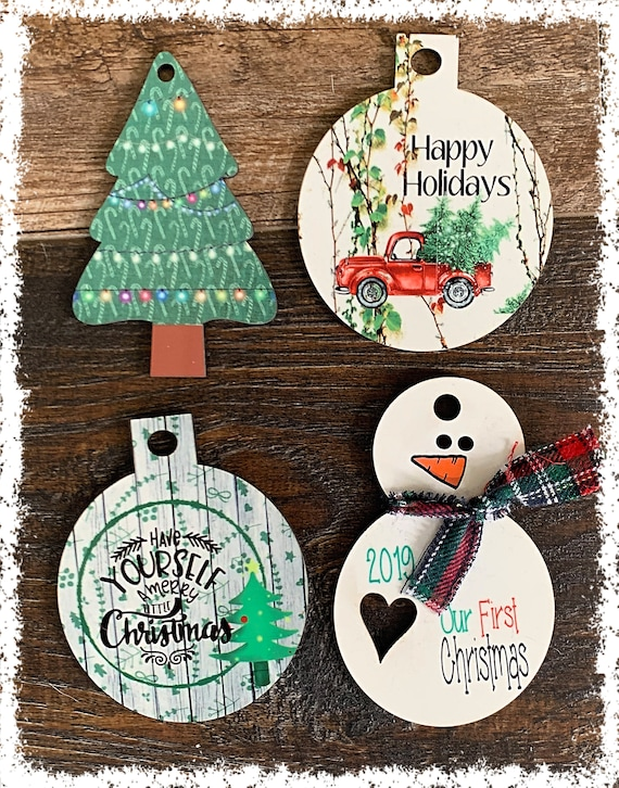Sublimation Blank Christmas Ornament for Sublimation