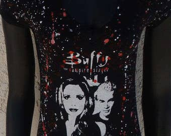 DiY Buffy the Vampire Slayer Shirt Spike